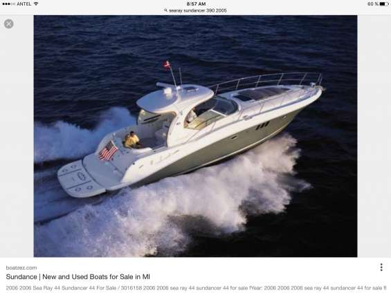 Barco searay sundancer 42 pies diesel