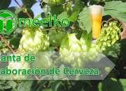 Planta de elaboración de cerveza meelko
