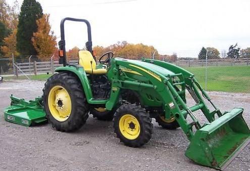 Tractor john deere modelo: 4320 año: 2005