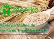 Planta de molino de harina de trigo 10ton/24h meelko