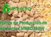 Planta de producción de alimentos meelko mkrd350w
