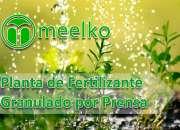 Planta de Fertilizante Granulado por Prensa 6ton MEELKO