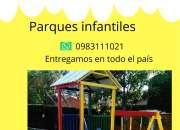 Parques infantiles para hogares entrega a todo paraguay