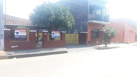 Alquilo residencia en pleno centro de san lorenzo