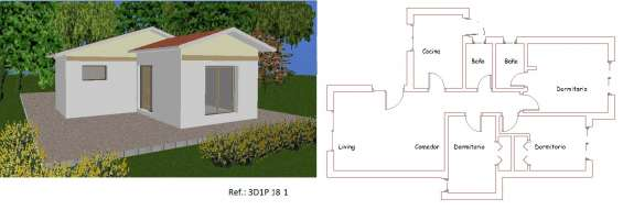 Planos de casas baratos para gente de escasos recursos