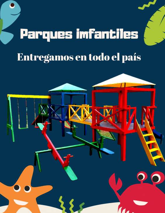 Parques infantiles para el hogar