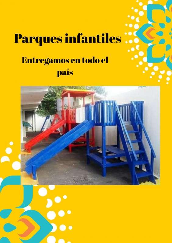 Parques infantiles para hogares entrega en todo paraguay
