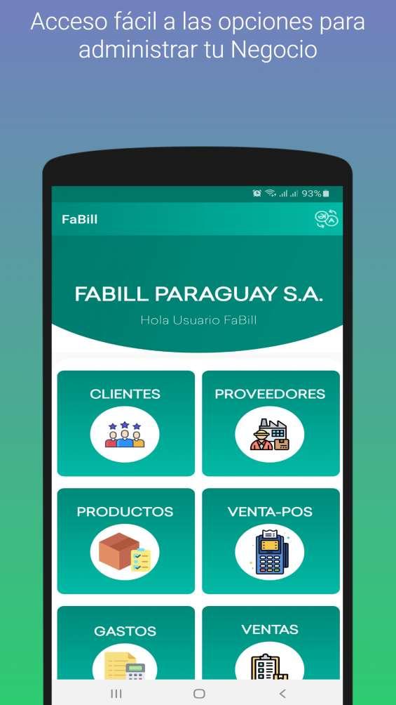 Fabill - app para facturar - ventas pos